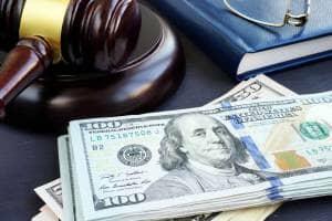 personal injury case settlement money